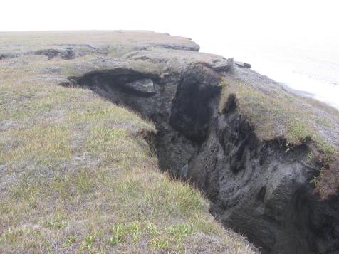BAIS_Bluff_086 Barter Island Coastal Erosion